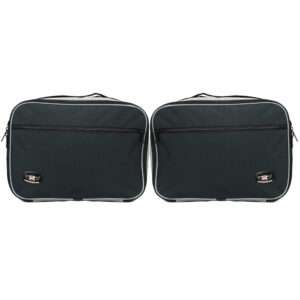 Expandable Pannier Bags for BMW R1200GS Vario With Extra Pocket