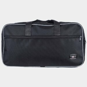 Silver Pannier Bags for BMW R1200GS Bike