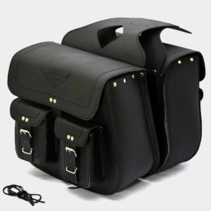 Motorcycle Leather Saddlebags For Harley Davidson