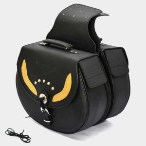 Premium Saddle Bags for Chopper Bikes
