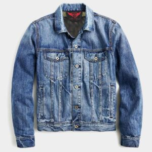 Men Kevlar Denim Jacket